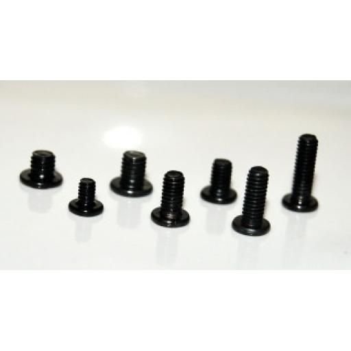 156 Laptop Screw Set 7 Packs M2X3 M3X3 M3X4 M2.5X4 M2.5X5 M2.5X6.5 M2.5X8 Screws